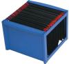 HELIT Függőmappa tároló, műanyag, HELIT, kék mappa