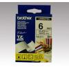 Brother Feliratozógép szalag, 6 mm x 8 m, BROTHER, fehér-fekete