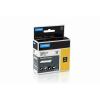 DYMO Feliratozógép szalag, nejlon, 19 mm x 3,5 m, DYMO, sárga-fekete