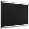 NOBO Habtábla, tűzhető, fekete, 60x90 cm, alumínium/műanyag keret, NOBO