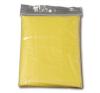 Esőkabát, poncsó szabású, átlátszó sárga esőkabát