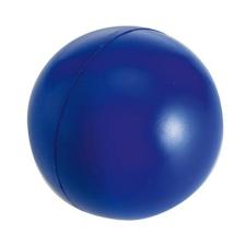 . Stresszlevezető labda, kék ajándéktárgy