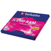 Verbatim DVD-RAM, egyoldalas, Type II, 4,7GB, 3x, VERBATIM