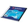 Verbatim CD-R lemez, 700MB, 52x, vékony tok, VERBATIM