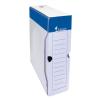 VICTORIA Archiváló doboz, A4, 80 mm, karton, VICTORIA, fehér