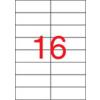 APLI Etikett, univerzális, 105x37 mm, APLI, 400 etikett/csomag