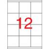 APLI Etikett, univerzális, 70x67,7 mm, APLI, 1200 etikett/csomag