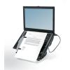 FELLOWES Notebook állvány, USB portokkal, FELLOWES