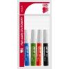 """ICO Flipchart marker készlet, 1-3 mm, kúpos, ICO """"Artip 11"""", 4 különböző szín"""