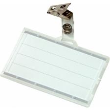 DONAU Névkitűző, csíptetővel, 88x54 mm, DONAU névkitűző