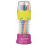 MAPED Color`Peps színes ceruza készlet, összecsukható tartó, 12 különböző szín színes ceruza