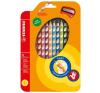 STABILO EasyColors színes ceruza készlet, háromszögletű, jobbkezes, 12 szín színes ceruza