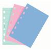 FILOFAX Kalendárium betét, jegyzetlap, personal méret, vonalas, FILOFAX, vegyes szín