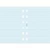 FILOFAX Kalendárium betét, jegyzetlap, personal méret, vonalas, FILOFAX, kék