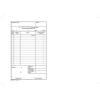 VICTORIA Nyomtatvány, pénztárgép napi bevételének módosító tételei, 25x2, A5, VICTORIA