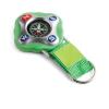 . Kulcstartó iránytűvel, zöld
