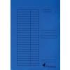 VICTORIA Pólyás dosszié, karton, A4, VICTORIA, kék
