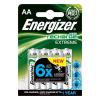 ENERGIZER Tölthető elem, AA ceruza, 4x2300 mAh, előtöltött