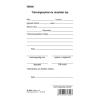 Túlóraigénylési és utasítási lap 50 lapos tömb 80x140 mm