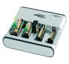 Conrad Ansmann akutöltő, 1,5V-os és 9V-os akkukhoz, PhotoCam V akkumulátor töltő