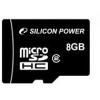 Silicon Power MICRO SDHC CARD 8GB CL4 Adapter nélküli