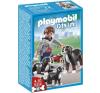Playmobil Kutyasétáltatás-Berni pásztorkutyák - 5214 playmobil