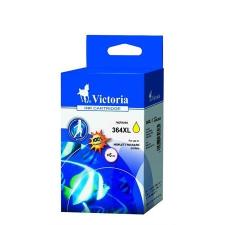 VICTORIA 364XL Tintapatron Photosmart C5380, C6380 nyomtatókhoz, VICTORIA sárga, 12ml nyomtatópatron & toner