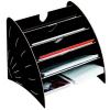 "FELLOWES Irattartó, karton, 5 részes, FELLOWES ""Earth Series™"", fekete"