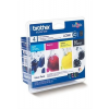 Brother LC980BCMY Tintapatron multipack DCP 145C, BROTHER b+c+m+y, 1*300 oldal, 3*260 oldal