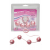 Seven Creations Marble Collection Anal Beads Large Pink