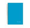 NOTTE Spirálfüzet 3in1 -40-822- Pastel kék A/4 120 lap KOCK.NOTTE füzet