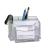 NO NAME rószertartó -68540440AP- 3+2 részes+100 ív jegyzet víztiszta UTE
