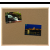 BI-OFFICE Parafatábla egy oldalas fa keretes 30x40 -MC010014010- BI-OFFICE