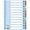 ESSELTE Regiszter -100162-MYLAR karton A4 1-12 ESSELTE <10csom/dob>