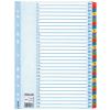 ESSELTE Regiszter -100164-MYLAR karton A4 1-31 ESSELTE <10csom/dob>