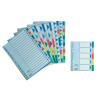ESSELTE Elválasztólap -15267- A4 MAXI 10-részes műanyag ESSELTE <10csom/