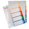ESSELTE Regiszter -100212- A4 maxi 1-6 nyomtatható ESSELTE<20cs/dob>