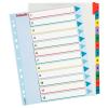 ESSELTE Regiszter -100209- A4 maxi 1-12 karton újraírható ESSELTE<10cs/d