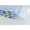 ESSELTE Genotherm lefűzhető -259760-MAXI A4/120mic NARANCSOS ESSELTE