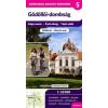 Frigoria Könyvkiadó Gödöllői-dombság kerékpáros térkép 1 : 55 000