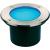 Conrad Padlóba süllyeszthető lámpa, 44 db LED, kék, LED fixen beépítve, kerek, SLV Dasar 115 229317