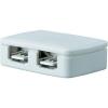 Conrad Elosztó LED szalaghoz, 4 részes, fehér, Paulmann YourLED Junctionbox 70203