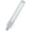 Energiatakarékos fényforrás, 230V, G24d, 13W, melegfehér, cső forma, Osram Dulux