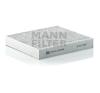 MANN FILTER CUK2440 aktívszenes pollenszűrő pollenszűrő