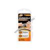 DURACELL hallókészülék elem AE312 6db/csom