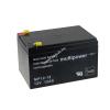Multipower Ólom akku 12V 12Ah (Multipower) típus MP12-12 - VDS-minősítéssel (csatlakozó: F1)