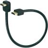 Conrad HDMI hosszabbító kábel 90°-os csatlakozó dugóval 0,3m Speaka Professional