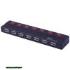 WIRETEK USB 2.0 HUB 7 port Black