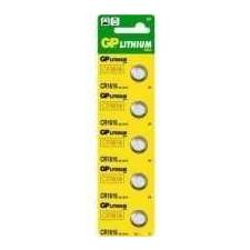 GP CR1616 Lítium gombelem 5 db/blister gombelem