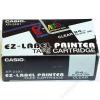 Casio Feliratozógép szalag, 24 mm x 8 m, CASIO, fehér-fekete (GCXR-24WE1)